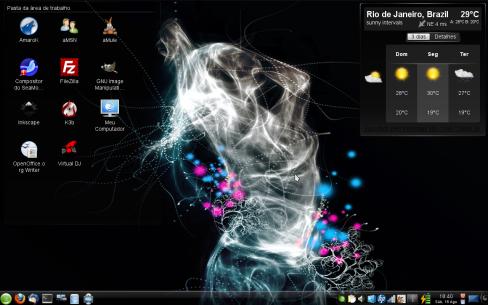 openSUSE 11.1 com KDE4.3