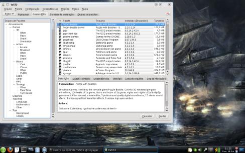 Instalador de pacotes openSUSE 11.2 RC1